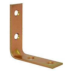 2 Inch Brass Corner Brace (4-Pack)