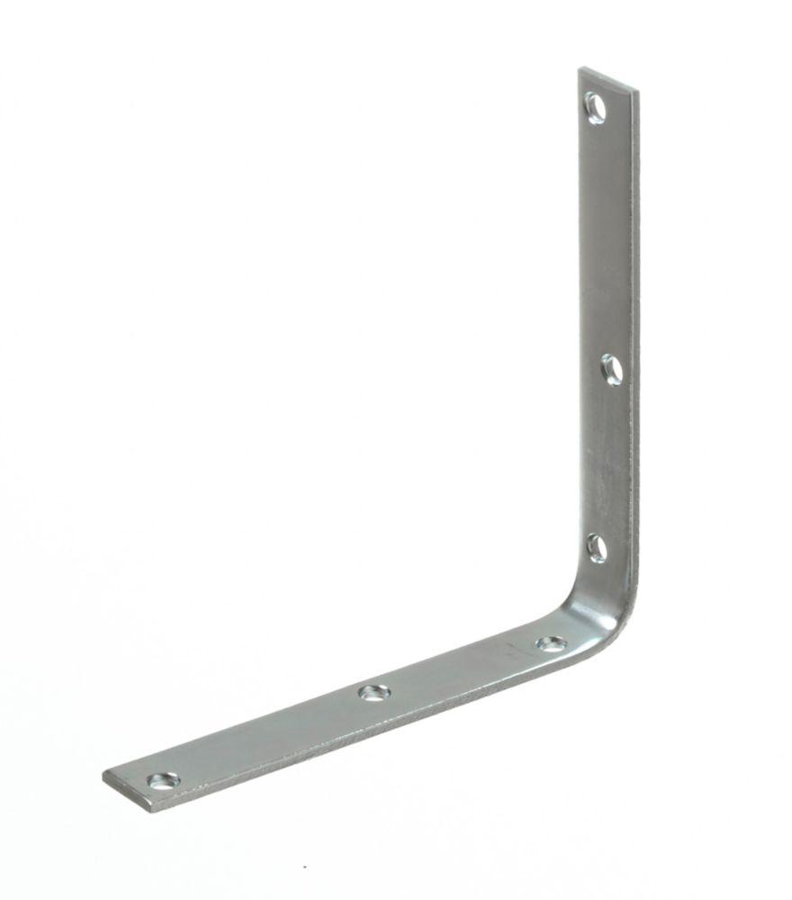 8 Inch  Zinc Corner Brace