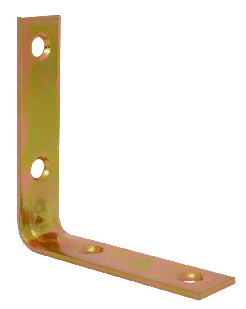 3 Inch Brass Corner Brace 4pk 859-711 Canada Discount