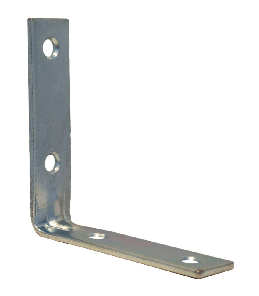 3 Inch  Zinc Corner Brace 4pk