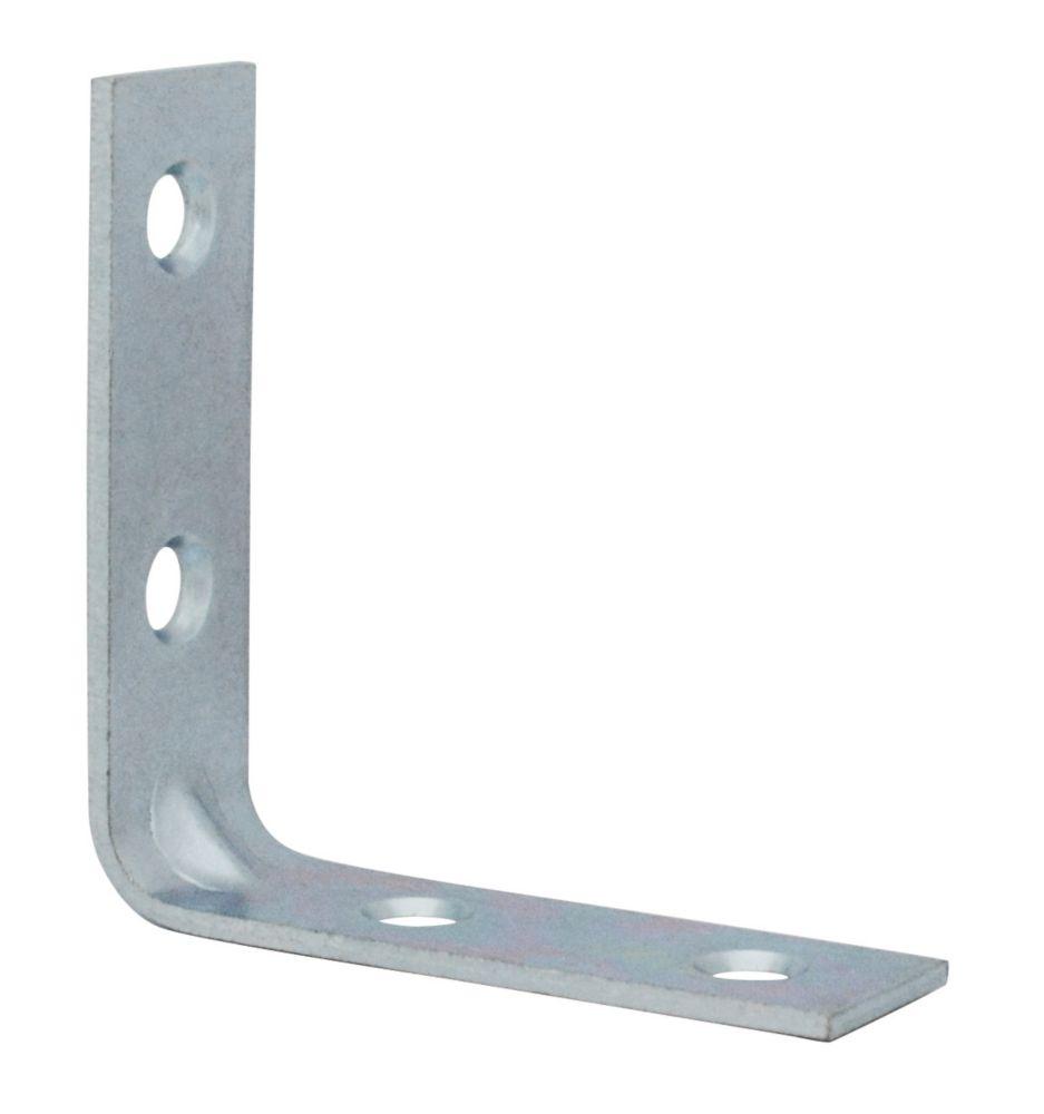 2 Inch  Zinc Corner Brace 4pk