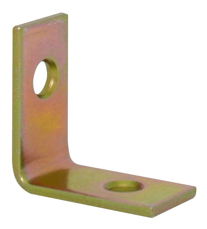 1 Inch  Brass Corner Brace 4pk