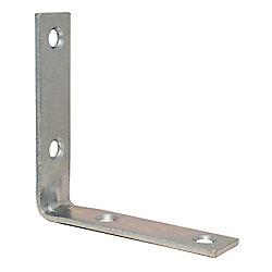 Everbilt 2-1/2 Inch Zinc Corner Brace (4-Pack)