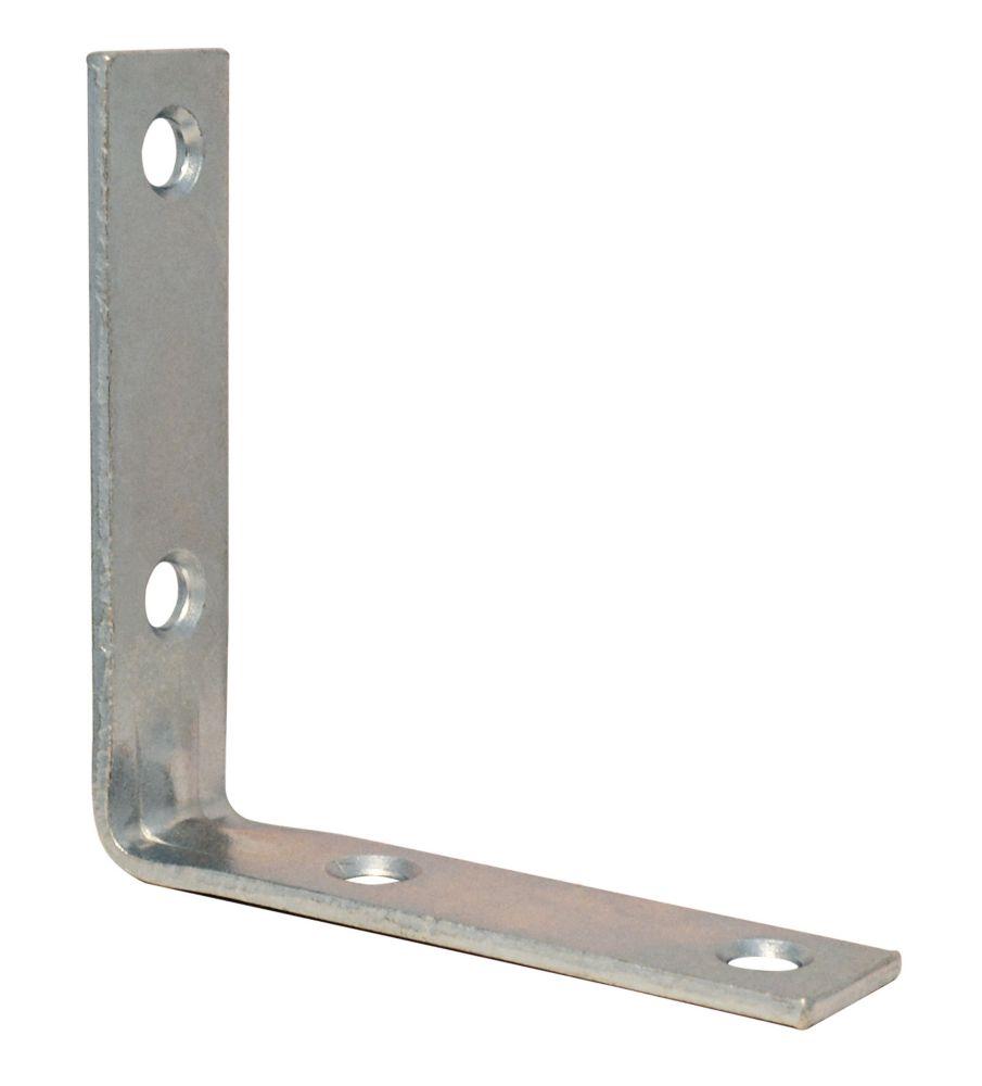 2-1/2 Inch  Zinc Corner Brace 4pk