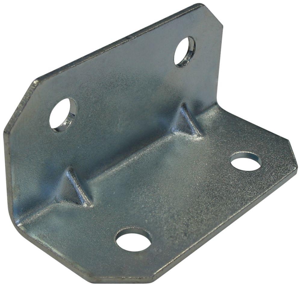 3/4 Inch  Zinc Corner Brace 4pk