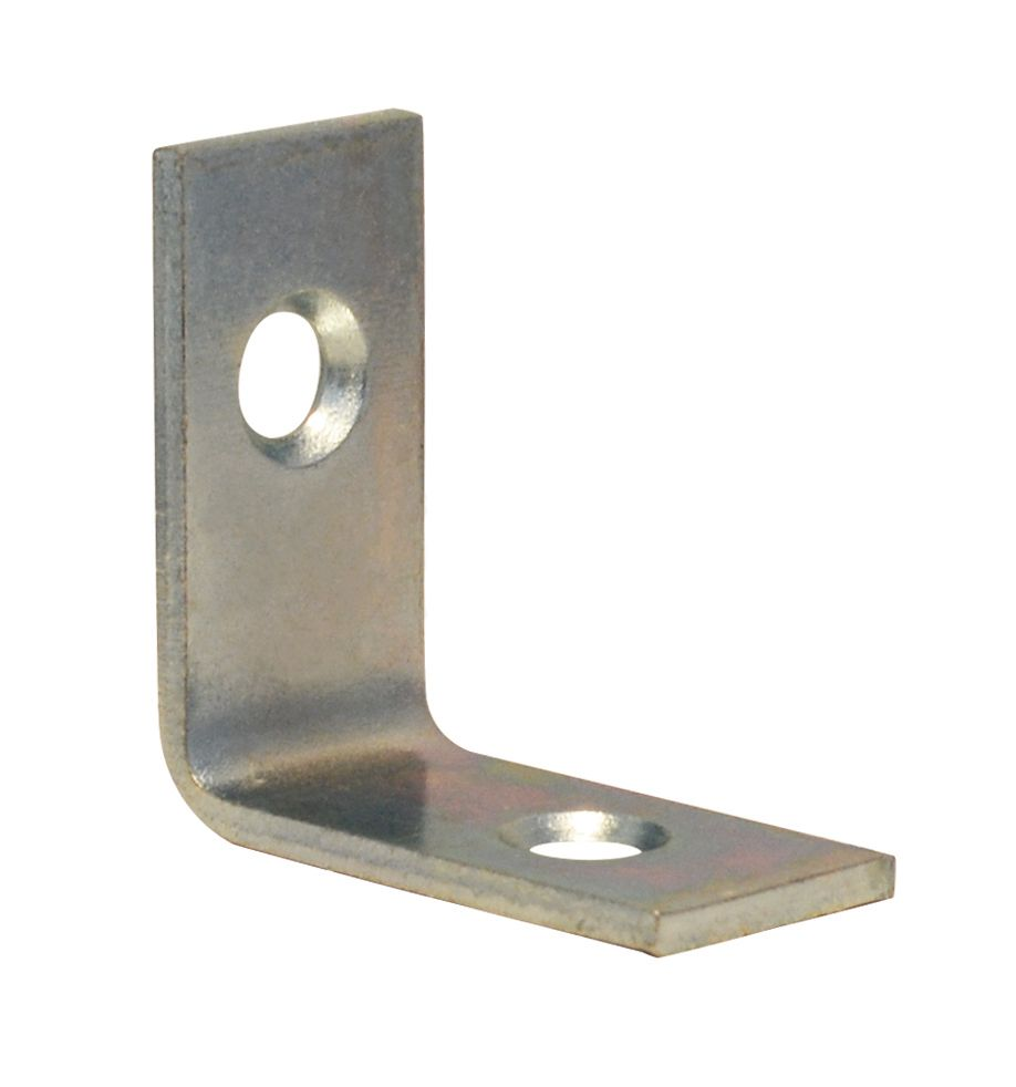 1 Inch  Zinc Corner Brace 100pk