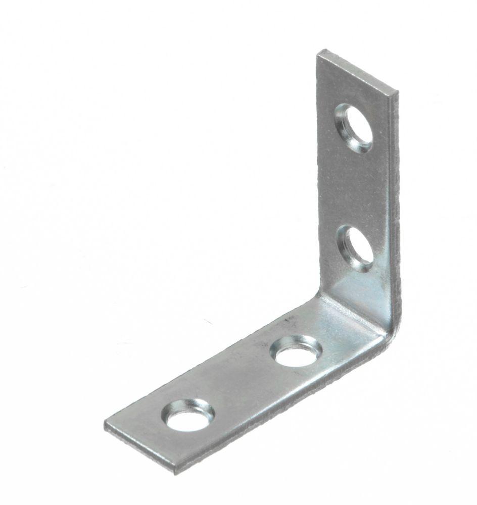 1-1/2 Inch  Zinc Corner Brace 80pk