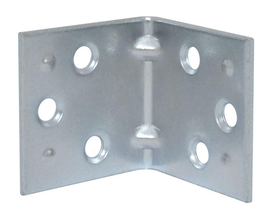 """Équerres double largeur 1-1/2"""" zinc  2MCX"""