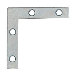 """Everbilt Équerres plates 2"""" zinc  4MCX"""