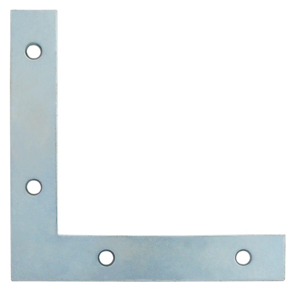 5 Inch  Zinc Flat Corner Brace