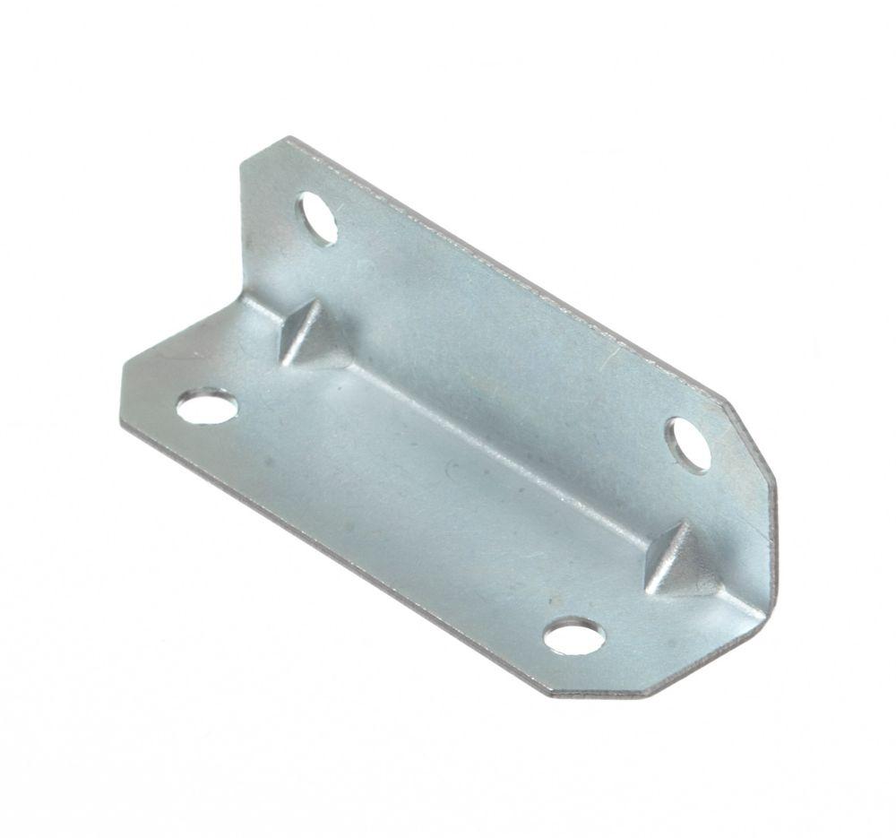 3/4 Inch X2-1/2 Inch  Zinc Furniture Brace 50pk