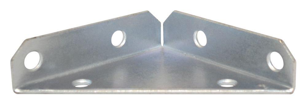 3 Inch  Zinc Heavy Duty Corner Brace 2pk