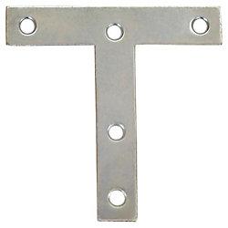 Everbilt 4 Inch  Zinc T-Plate