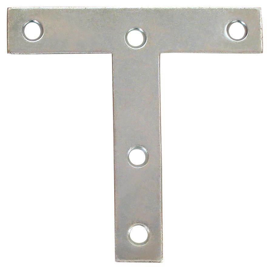 """plaques en T 4"""" zinc"""