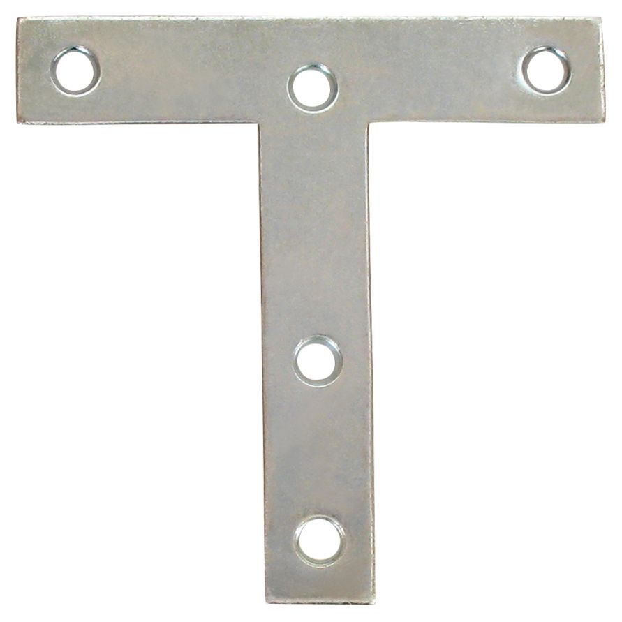 4 Inch  Zinc T-Plate