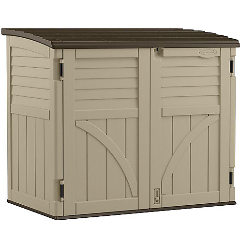 34 cu. ft. Horizontal Storage Shed