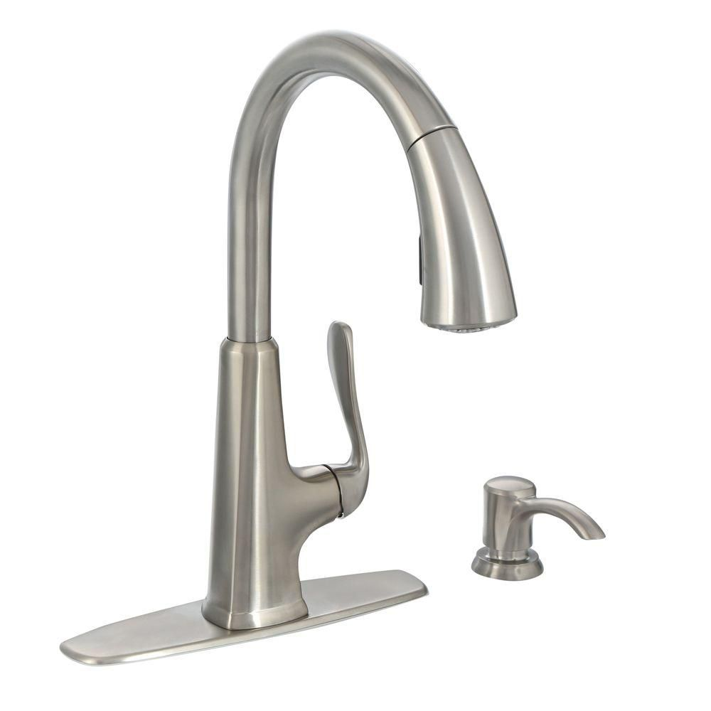 Pasadena Kitchen Faucet - Stainless Steel