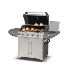 Broilchef 6 Burner Lp Gas Bbq With Searing And Side