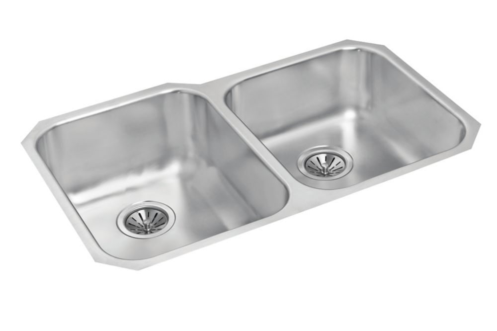 One and a Half Bowl Undermount - 31 Inch x 20 Inch x 8.5 deep