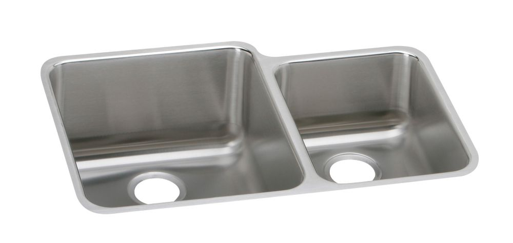 One and a Half Bowl Undermount - 21 Inch x 30.75 Inch x 9.875 deep