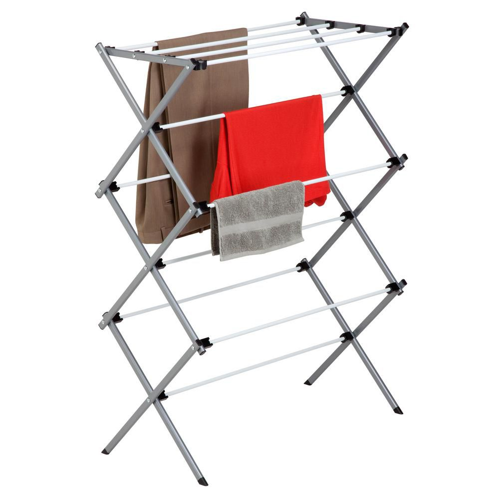 Deluxe Metal Drying Rack&#x3b; Ready to Assemble