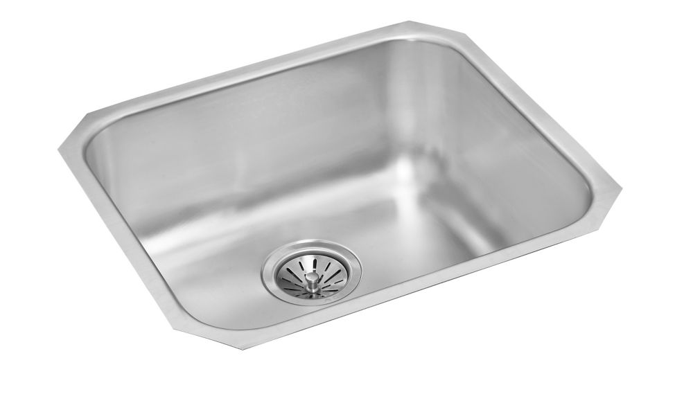 Single Bowl Undermount - 20 Inch x 18 Inch x 8 deep