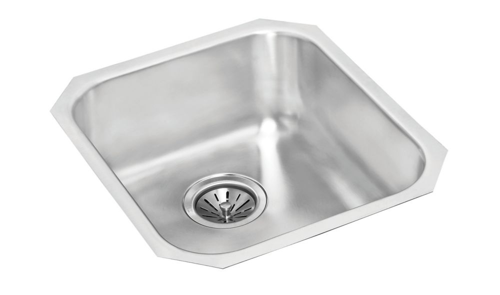 Single Bowl Undermount - 16 Inch x 18 Inch x 8 deep