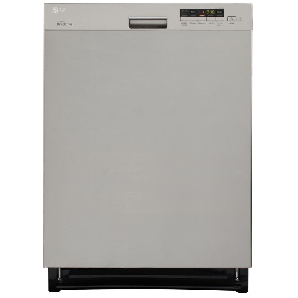 24-inch Semi-Integrated Dishwasher with Flexible EasyRack System in Stainless Steel