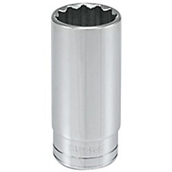 HUSKY 1/2-inch Drive 15/16-inch 12-Point SAE Deep Socket