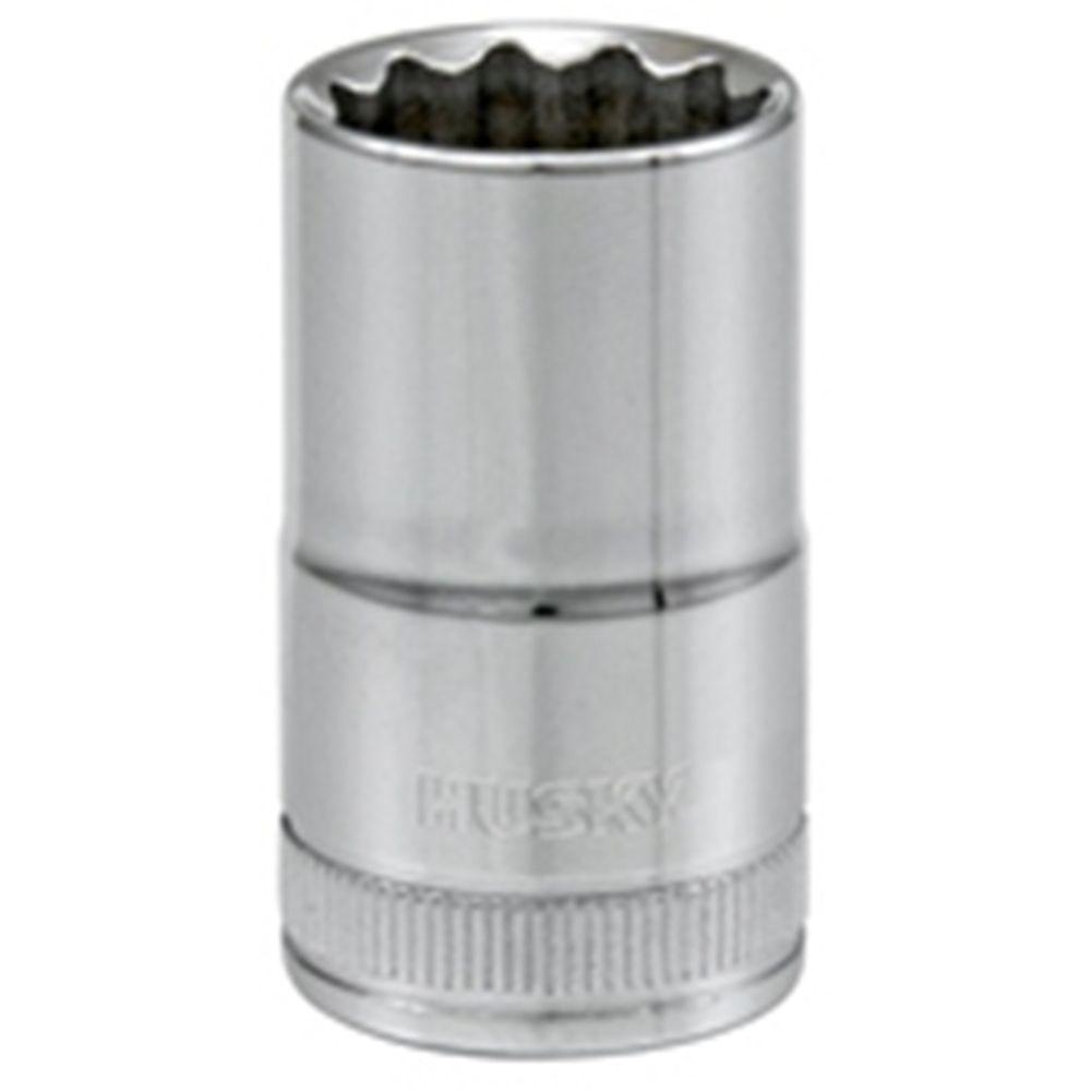Socket 1/2 Inch Drive 15 Millimeters 12 Point Standard Metric