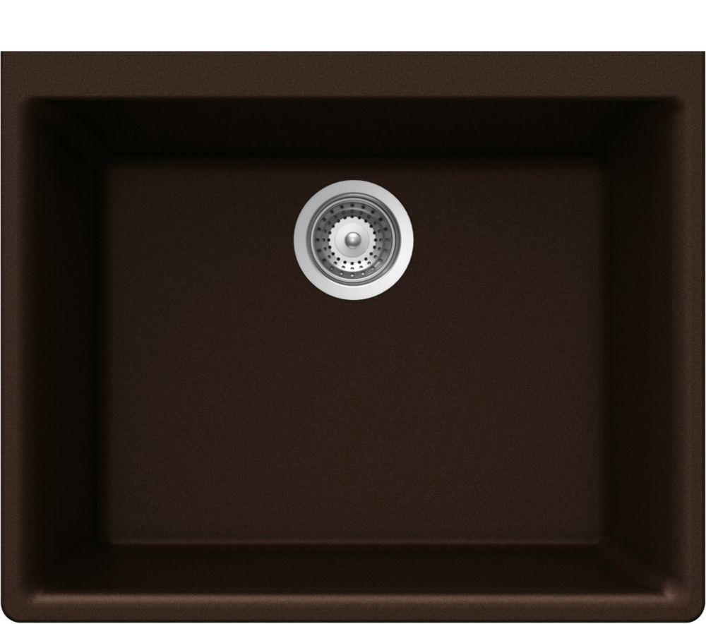 Single Bowl Undermount - 18.25 Inch x 23.625 Inch x 8.625 deep