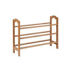 Honey-Can-Do International 3-tier bamboo shoe rack