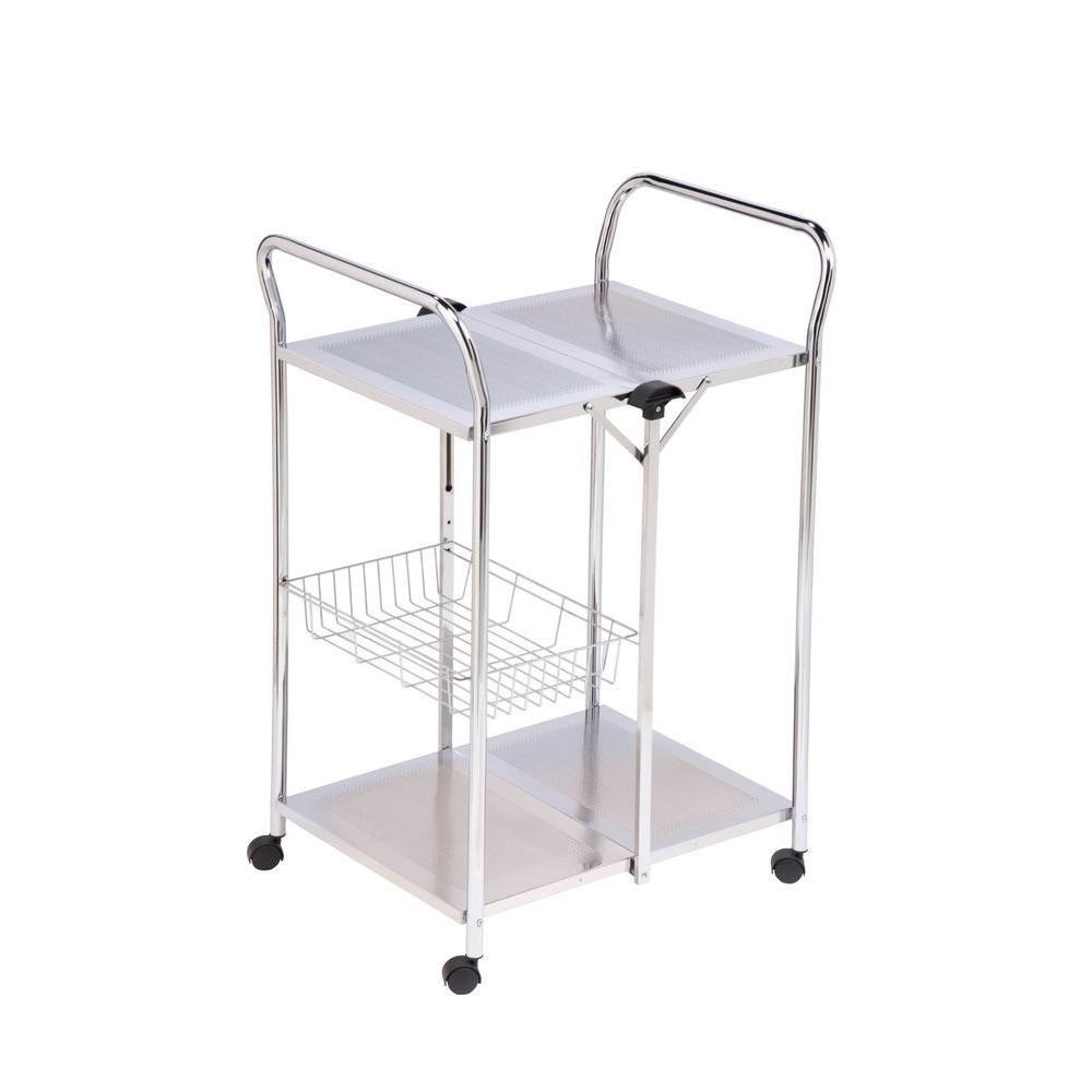 Honey-Can-Do International Deluxe Foldable Push Cart