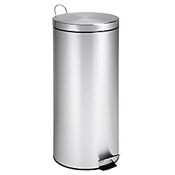 Honey-Can-Do 30L Round Stainless Steel Can with Bucket