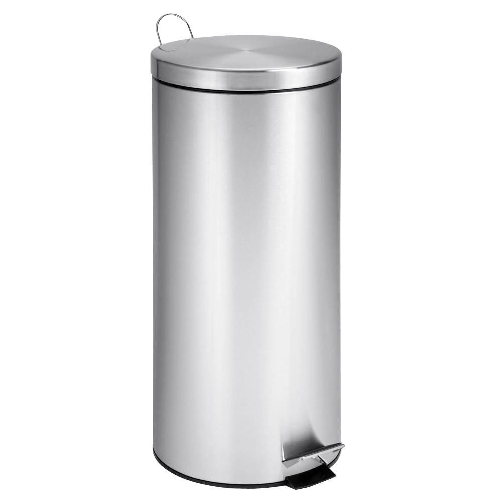 Honey-Can-Do International 30L Round Stainless Steel Can with Bucket