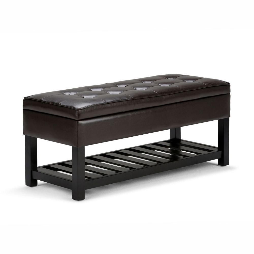 Cosmopolitan Collection  Storage Ottoman Bench