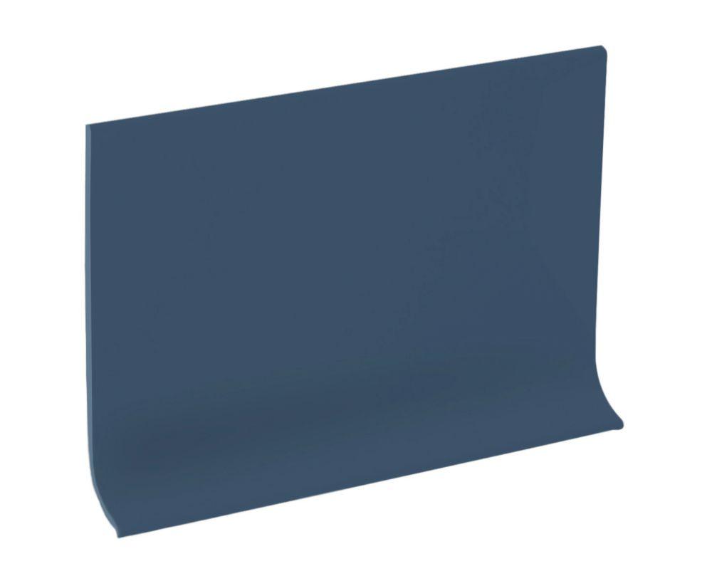 Rubber mur Plinthe - Rouleau De 100 Pied - Bleu Acier