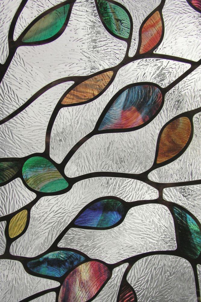Film décoratif pour fenêtre de 61 cm x 91 cm New Leaf