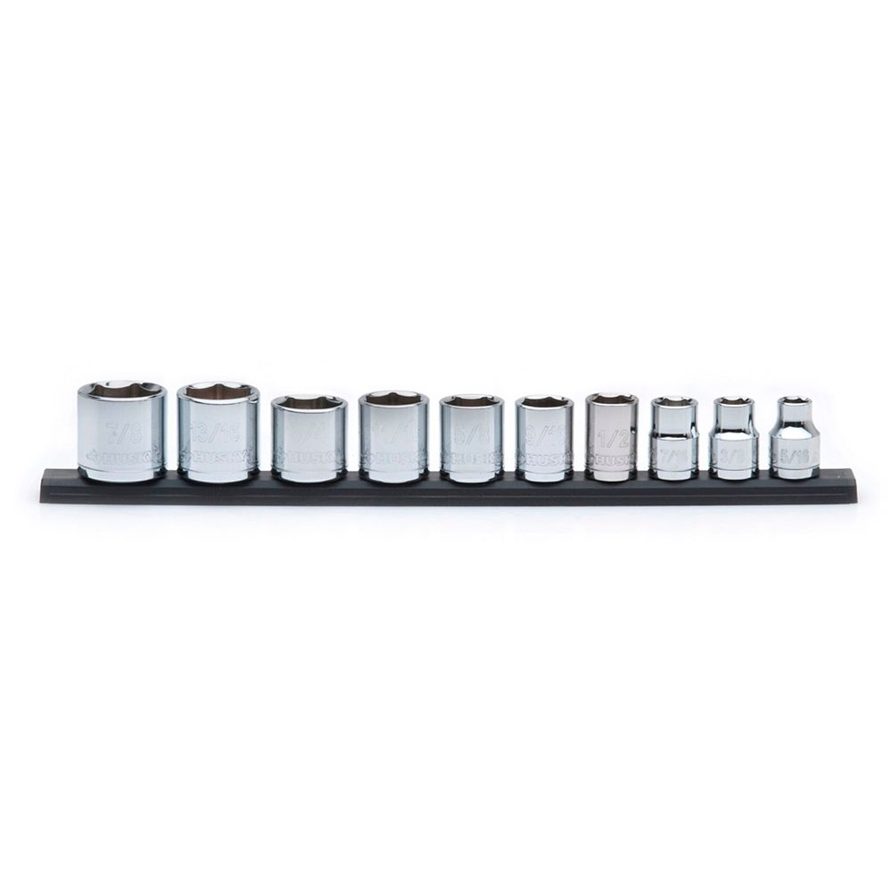 Socket Set 10 Pieces 3/8 Inch Drive SAE