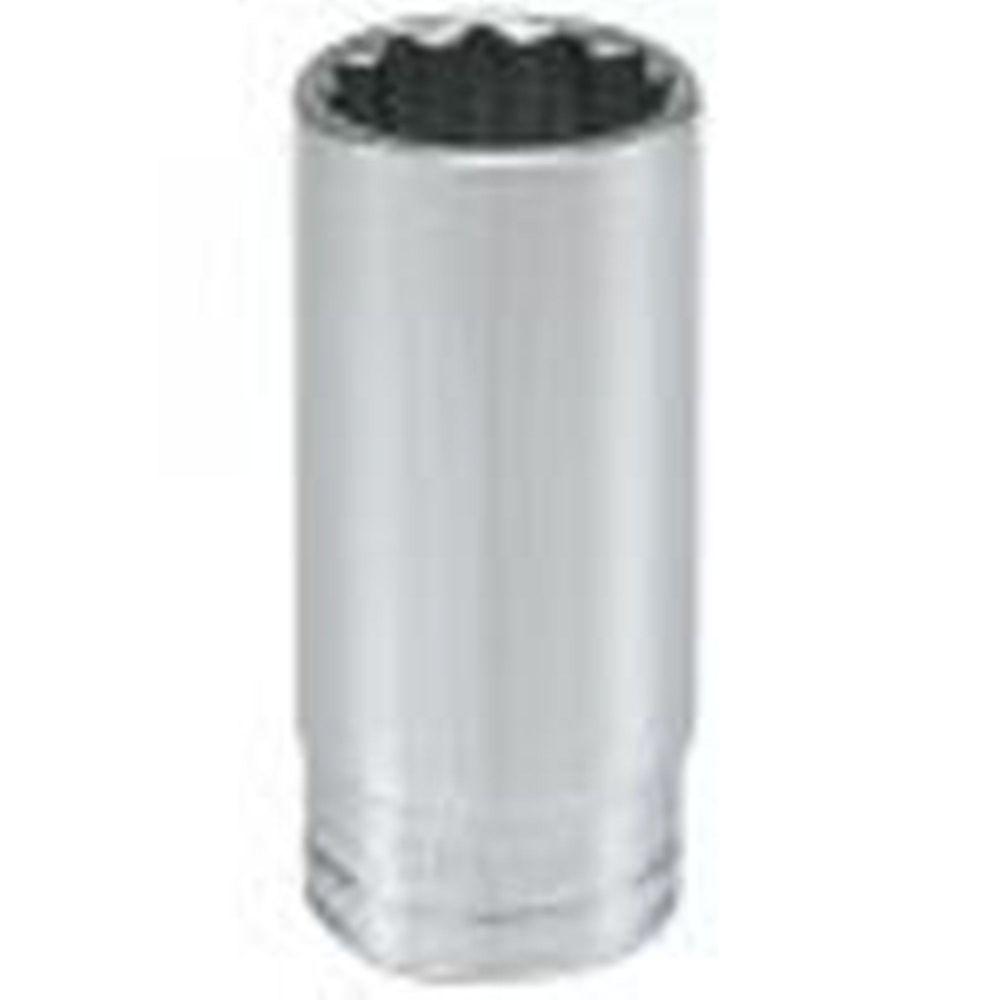 HUSKY Socket 1/2 Inch Drive 1 Inch 12 Point Deep SAE