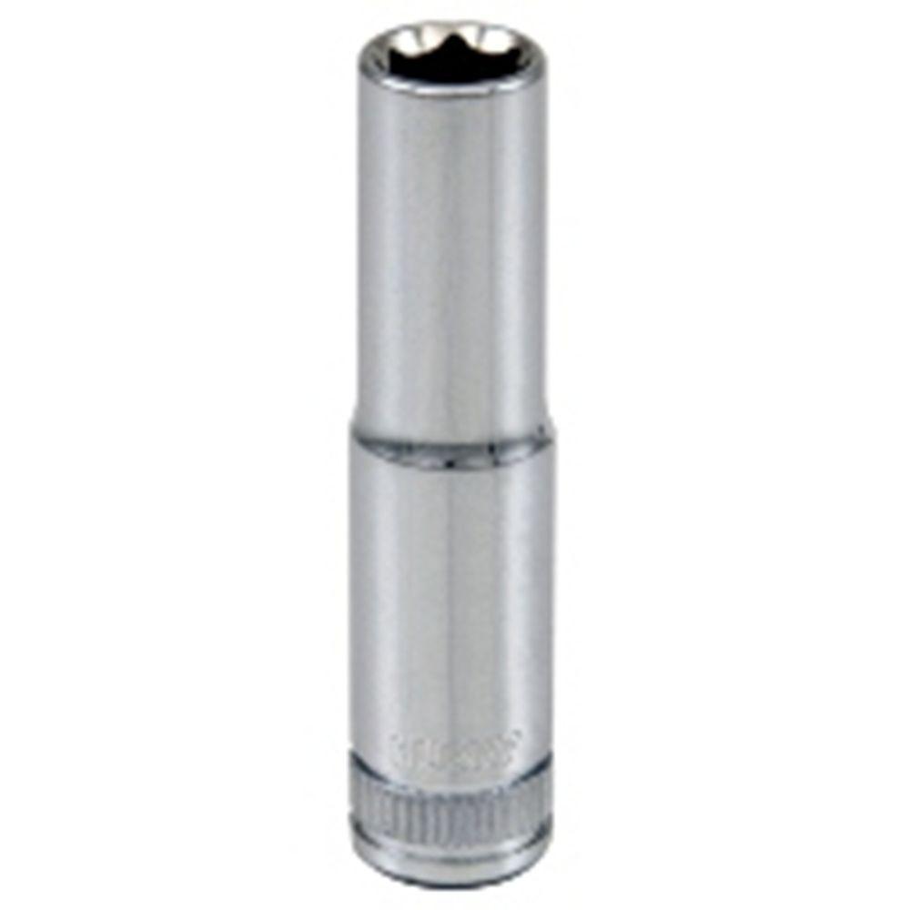 HUSKY Socket 1/4 Inch Drive 8 Millimetres 6 Point Deep Metric