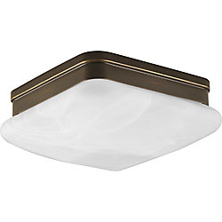 Progress Lighting Appeal Collection 2-Light Antique Bronze Flushmount