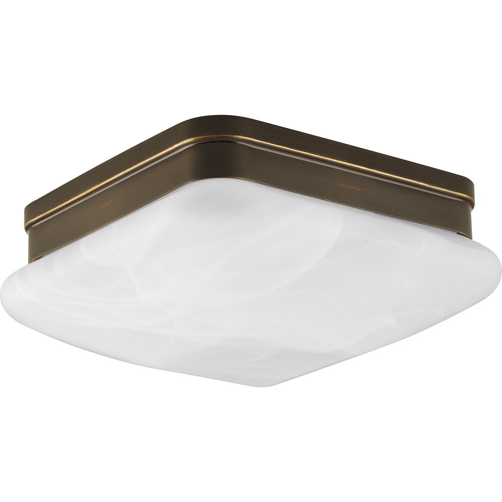 Appeal Collection 2-Light Antique Bronze Flushmount