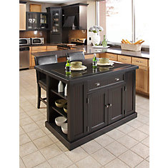 Movable Island Kitchen | Kitchen Island Carts The Home Depot Canada