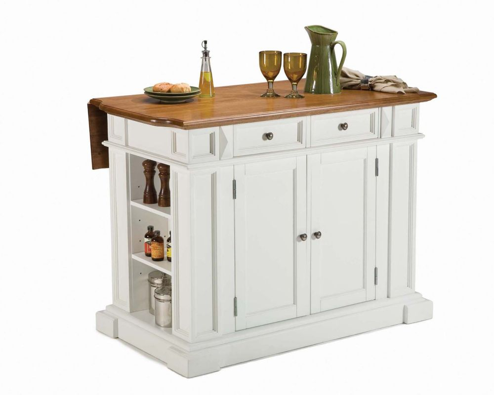 kitchen islands home depot home styles 206 lot de cuisine blanc pur 224 abattant fini 5258