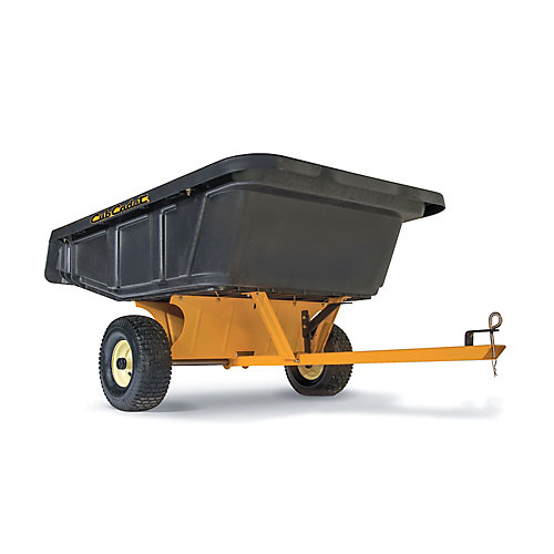 SmartCART 800 lb. Poly Cart for Riding Mowers