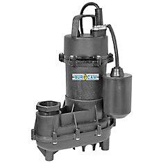 1/2CV Pompe D'effluent Et De Puisard Submersible