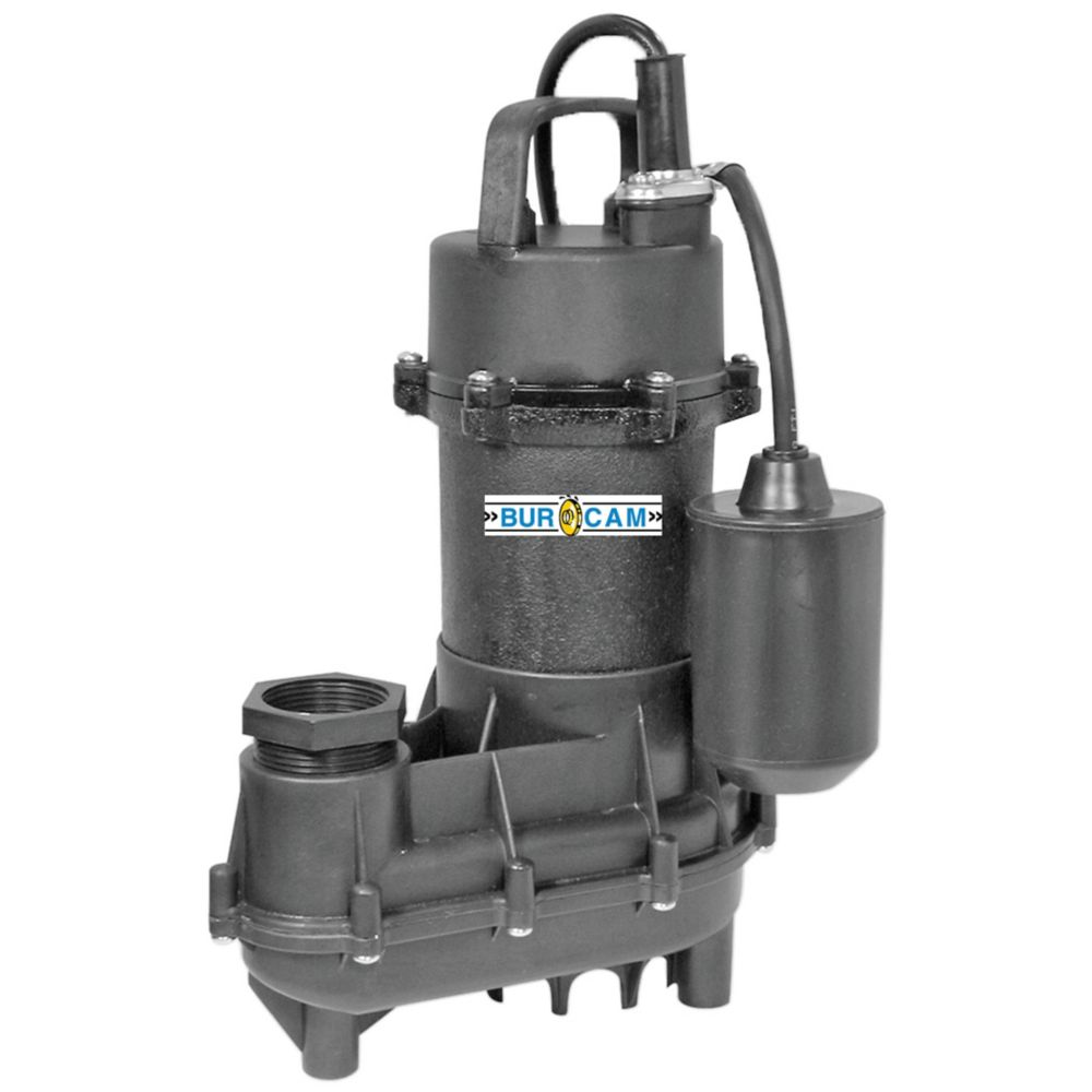 1/2HP Submersible Effluent Sump Pump