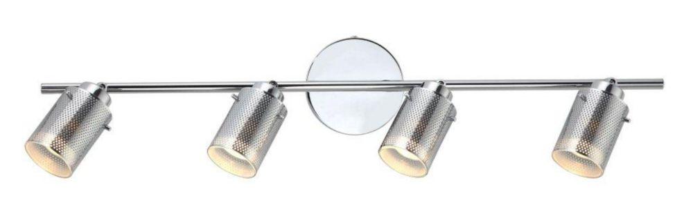 4 Light Lincoln Track Chrome