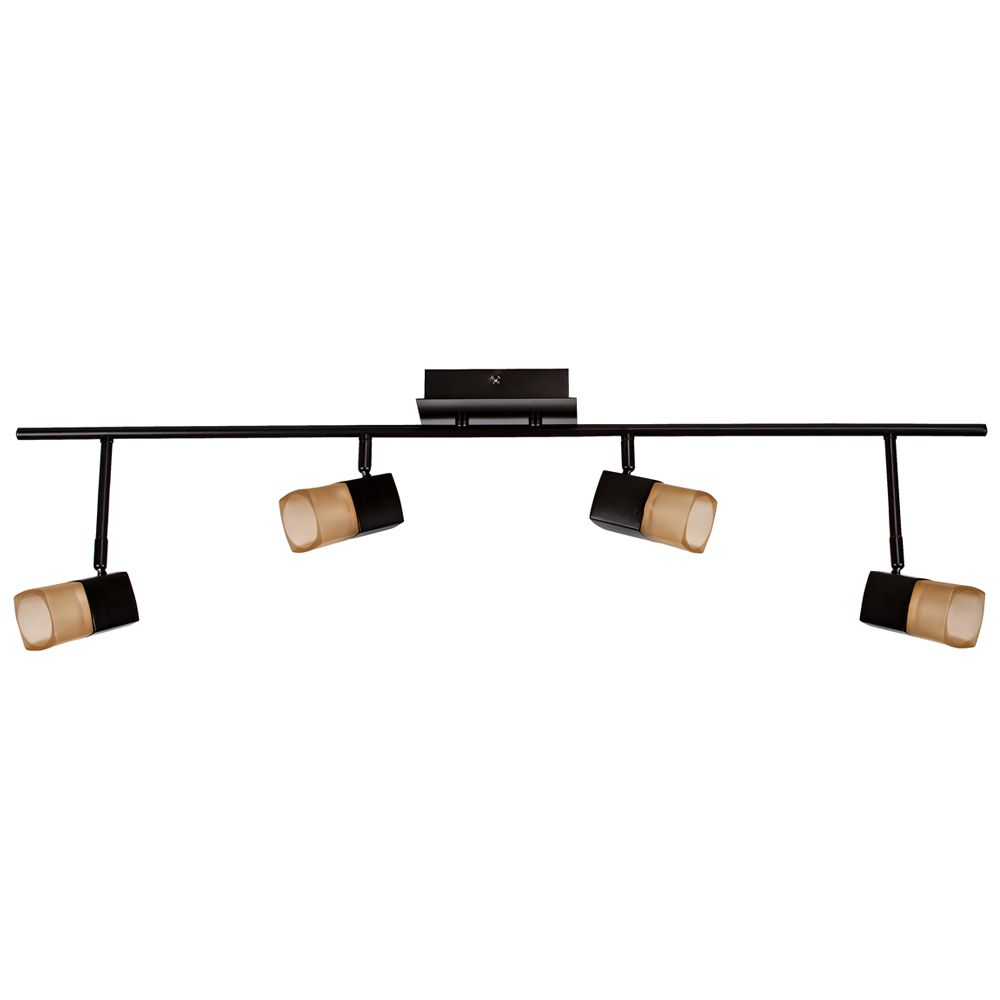 Hampton Bay Track Lighting Change Bulb: Hampton Bay Vega LED 4-Light Directional Light Bar